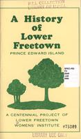 history of Lower Freetown, Prince Edward Island