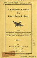 naturalist's calendar for Prince Edward Island